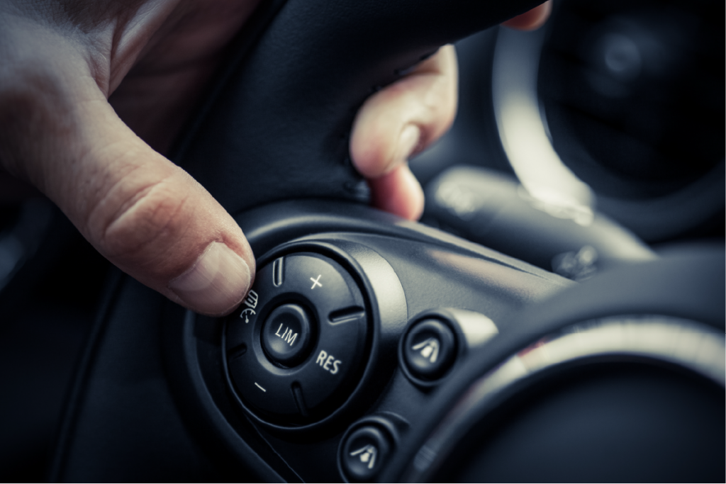 tactile buttons on steering wheels keep drivers safe